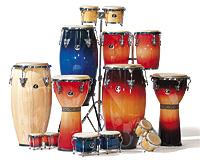 congas und bongos